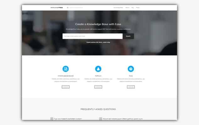 Knowledge Press (WordPress Soru Cevap Teması)