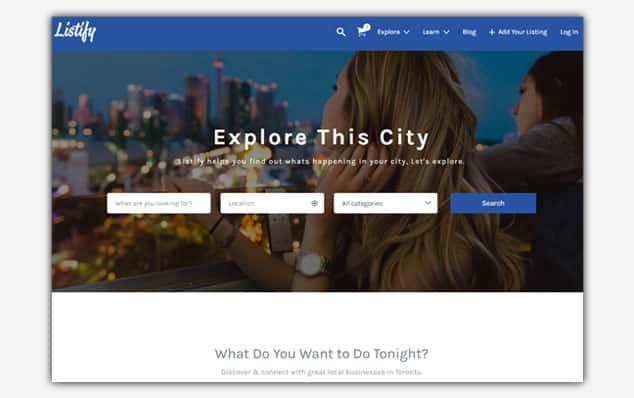 Listfy - (WordPress İlan Teması)