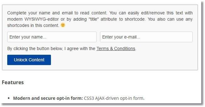 E-Mail Aboneliği ile WordPress İçerik Kilitleme