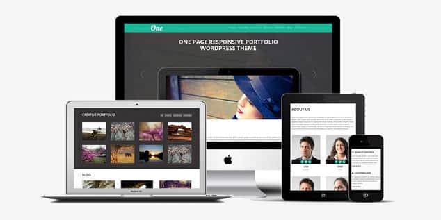 OnePager - (WordPress Fotoğrafçılık Teması)
