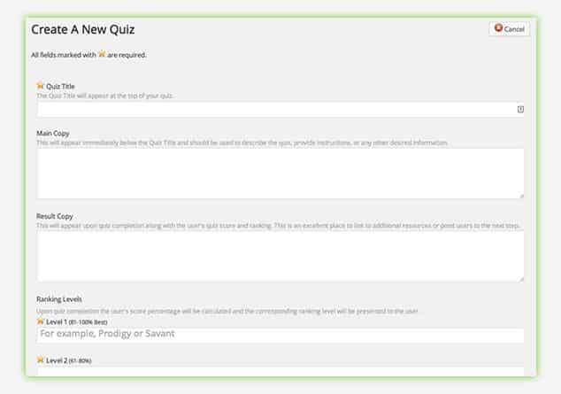 Slick Quiz - WordPress Sınav Eklentisi / Soru Oluşturma