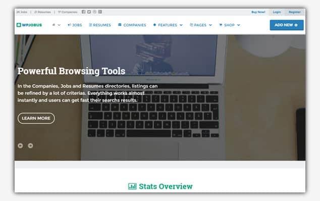 WPJobus - (WordPress İlan Teması)