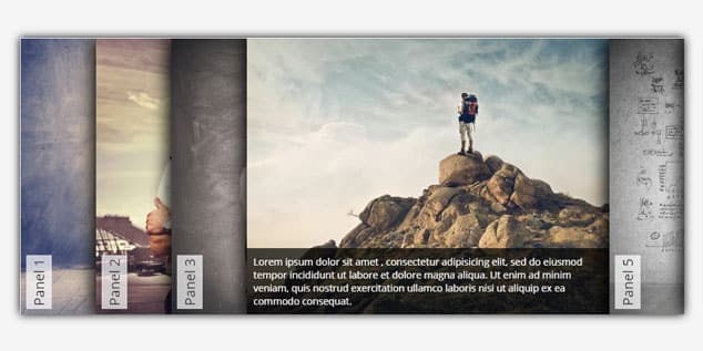 Accordion Slider - (WordPress Slider Eklentisi)