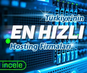 En Hızlı Hosting Fİrmaları - Türkiye