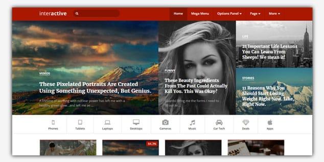 Wordpress Adsense Teması - Interactive