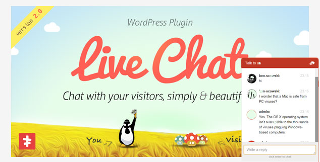 WordPress Live Chat - ( WordPress Canlı Destek Eklentisi )