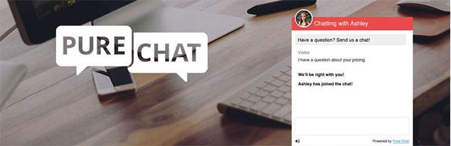 Pure Chat - ( WordPress Canlı Destek Eklentisi )