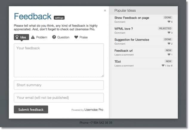 En İyi WordPress Eklentileri - WordPress Geri Dönüş Eklentisi
