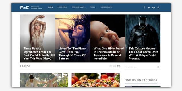Wordpress Adsense Teması - WordX
