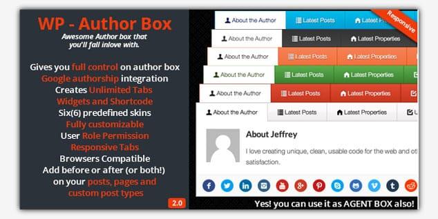WP Author Box - (WordPress Yazar Kutusu Eklentisi)