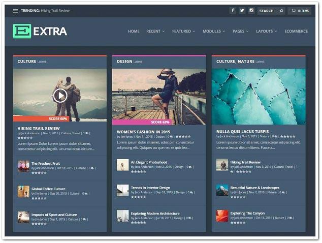 Wordpress Blog Temaları - WordPress Blog Teması - Extra