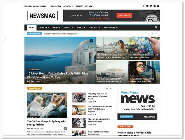 Wordpress Blog Teması - WordPress Blog Temaları