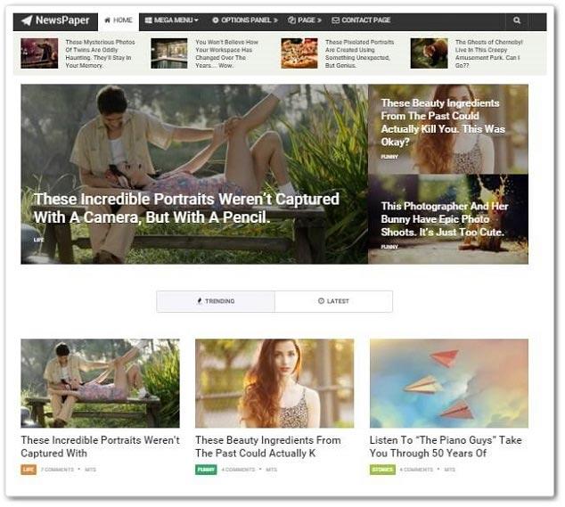 Wordpress Blog Temaları - WordPress Kişisel Blog Temaları