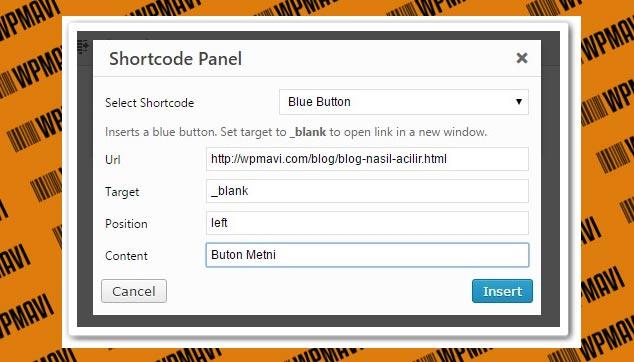 Wordpress Butona Link Verme - URL adresi Seçme