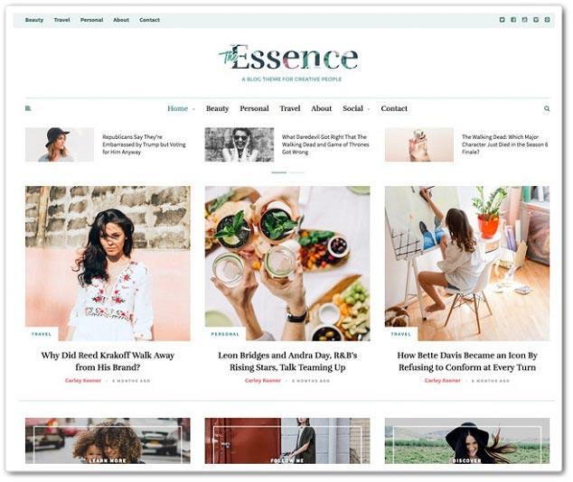 Wordpress Haber Teması - WordPress Haber Temaları - Essence