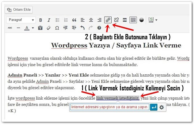 Wordpress Link Verme -1