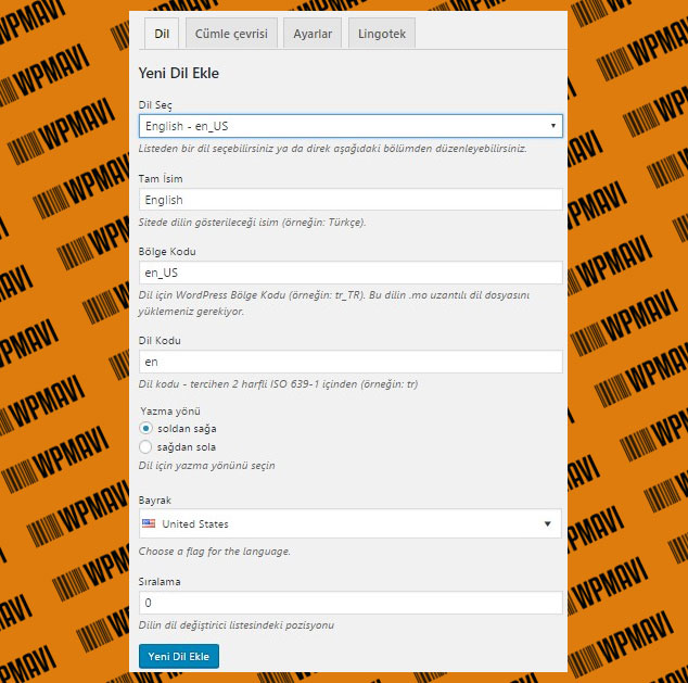 Wordpress Siteye Yabancı Dil Seçeneği Ekleme - Polylang