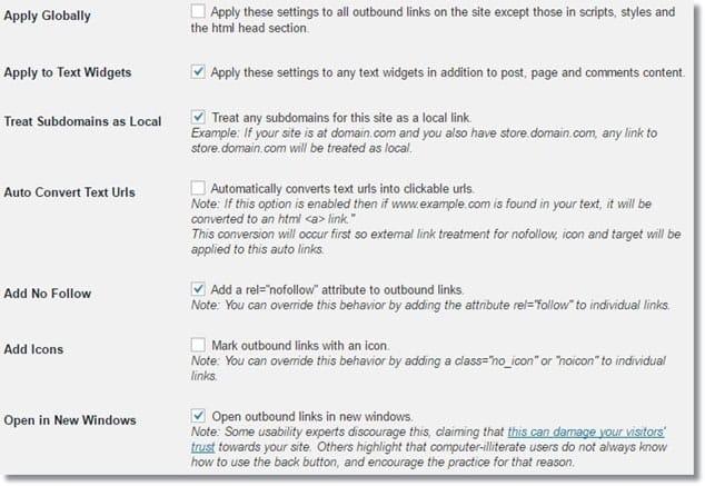 Wordpress Tüm Dış Linkleri Otomatik Yeni Sekmede Açma
