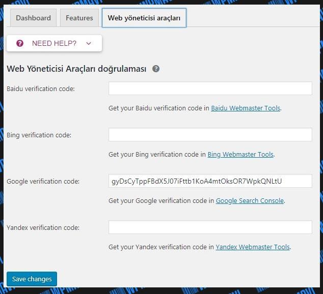 Yoast SEO Ayarları Web Yöneticileri Arçları