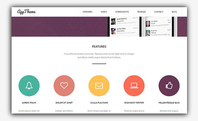 AppTheme - WordPress Tek Sayfa Tema