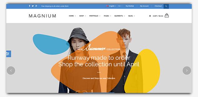 Magnium - WordPress Tek Sayfa Tema