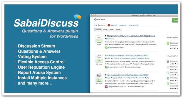 Wordpress Soru Cevap Eklentisi - WordPress Soru Cevap Eklentileri - Sabai Discuss