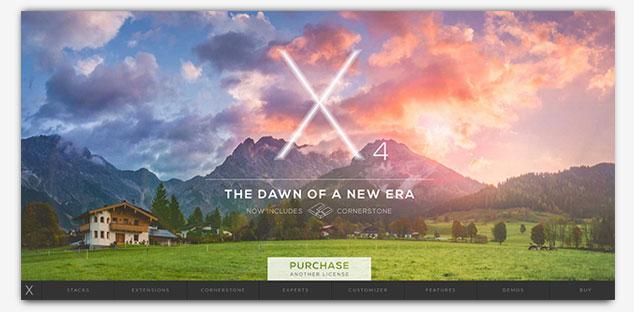 X The Theme - WordPress Tek Sayfa Tema