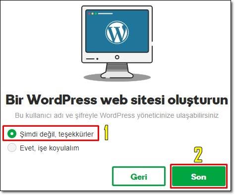 Blog Nasıl Açılır - Bir Worpress Sitesi Kur (Blog Oluşturma)