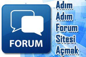 Forum Sitesi Kurma