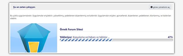 Forum Sitesi Kurma - Otomatik Kurulum