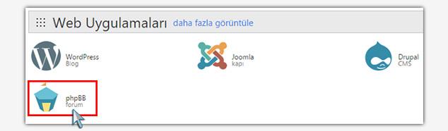 Forum Sitesi Kurma - phpBB Forum