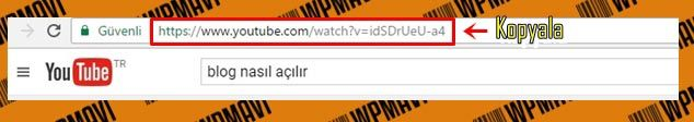 Wordpress Video Ekleme - URL Kopyalama ve Yapıştırma