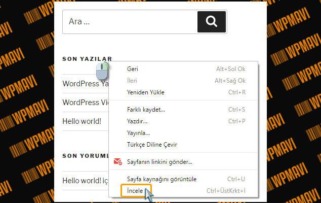 WordPress Yazı Tipi Değiştirme - İncele