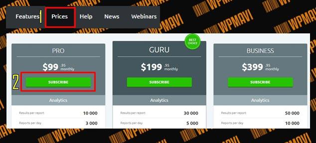 Google Adsense En Çok Kazandıran Kelimeleri Semrush ile Bulma Fiyat Tablosu