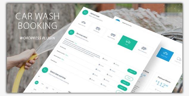 Car Wash Booking WordPress Rezervasyon Eklentisi