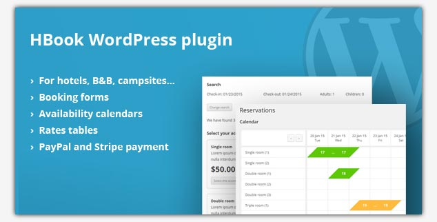 HBook WordPress Rezervasyon Eklentisi