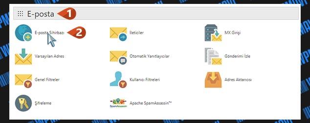 Şirket Maili Açma - E-Posta Sihirbazı