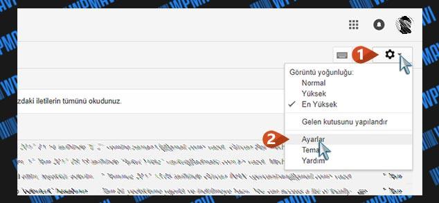 Şirket Mailini Gmailde Açma - Gmail Ayarlar