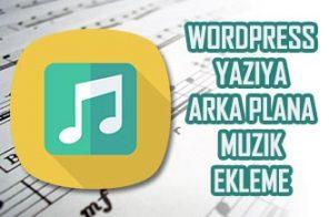 WordPress Müzik Ekleme