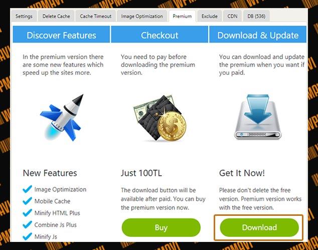 WP Fastest Cache Premium - Download