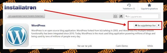 İnternetten Satış Nasıl Yapılır - WordPress Uygulamayı Kur