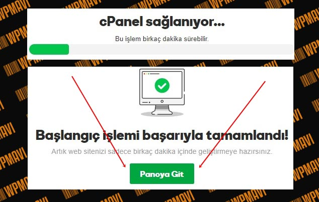 E-Ticaret Sitesi Kurmak - cPanel Kurulumu Tamamlandı