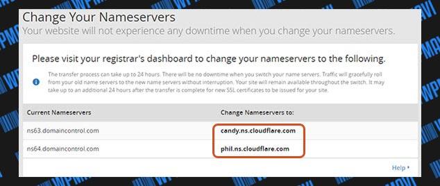 CloudFlare Kurulumu - Nameserver Adresleri