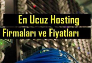 En Ucuz Hosting Fiyatları ve Firmaları