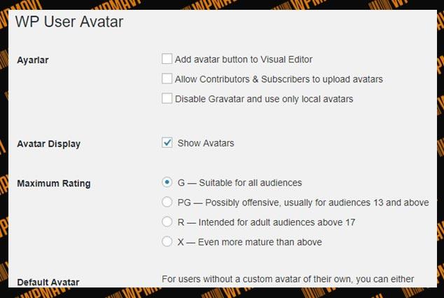 Wordpress Yazar Resmi Göstermek - WordPress Yazar Resmi Getirmek - WP User Avatar
