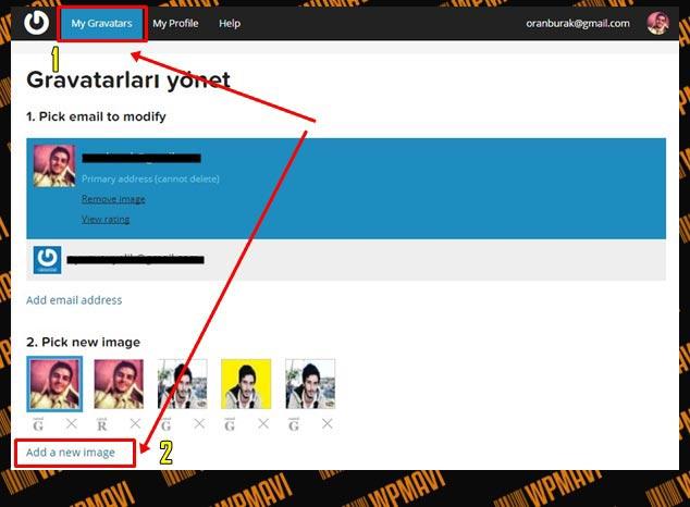 Wordpress yazar resmi ekleme - Gravatar