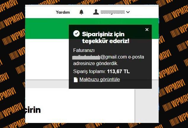 Host ve Domain Nasıl Alınır - Ödeme Tamamlandı