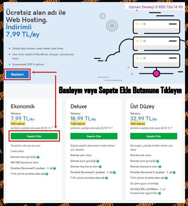 Site Kurma - Site Açma - Web Sitesi Nasıl Yapılır - Hosting Paket Fiyatları