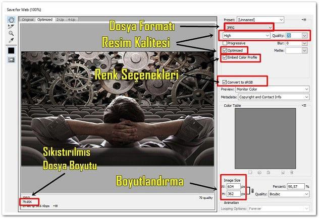 Photoshop Ayarları - Blogdan Nasıl Para kazanabilirim
