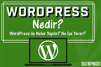 Wordpress Nedir - WordPress Ne İşe Yarar